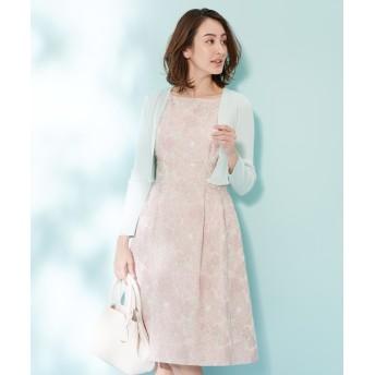 【オンワード】 TOCCA(トッカ) 【洗える!】PERFECTION CAMELLIA ドレス ピンク 4 レディース 【送料無料】