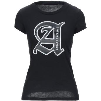《セール開催中》ARMANI EXCHANGE レディース T シャツ ブラック XS コットン 100%