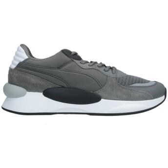《セール開催中》PUMA メンズ スニーカー&テニスシューズ(ローカット) 鉛色 6 紡績繊維 RS 9.8 GRAVITY