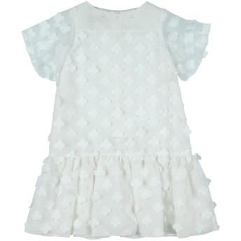《セール開催中》LA STUPENDERIA ガールズ 9-16 歳 ワンピース&ドレス ホワイト 10 PES - ポリエーテルサルフォン 100% / ポリエステル