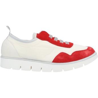 《セール開催中》PNCHIC メンズ スニーカー&テニスシューズ(ローカット) レッド 44 紡績繊維