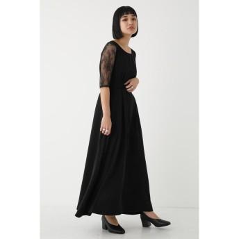 シェルターセレクト レーススリーブクチュールドレス(Lase Sleeve Couture Dress)/ワンピース レディース BLK FREE 【SHEL'TTER SELECT】