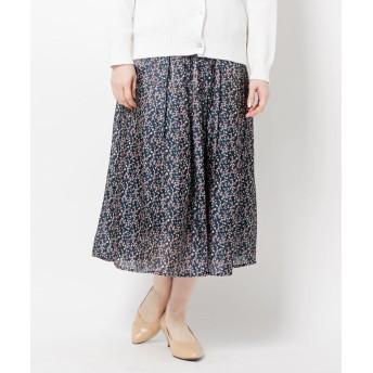 THE SHOP TK(Women)(ザ ショップ ティーケー(ウィメン)) オーロラサテンスカート