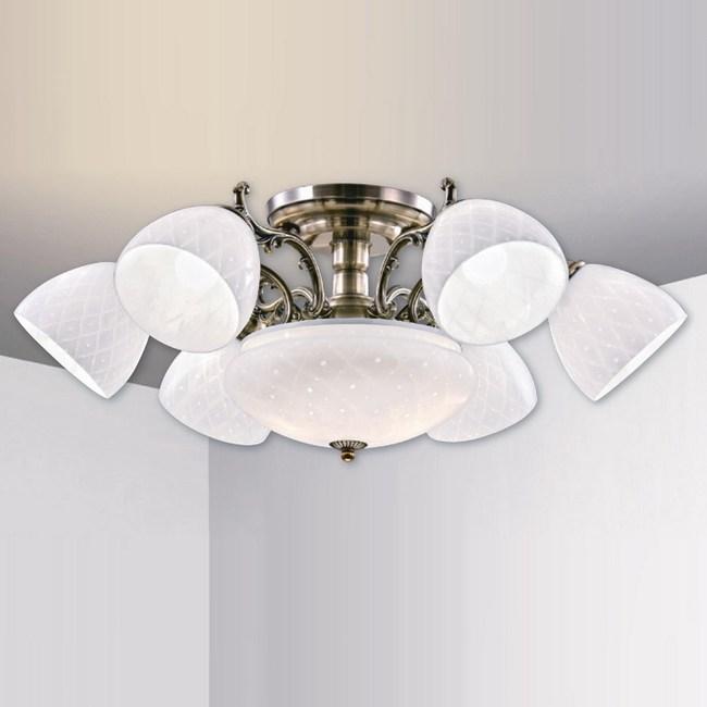 大巨光 台製復古風半吸頂燈 大 LW-09-2123