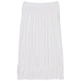 <ズッカ/ZUCCA> ワッシャープリーツスカート white(01)【三越・伊勢丹/公式】