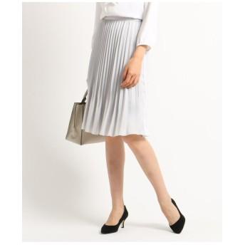 [S]【ママスーツ/入学式 スーツ/卒業式 スーツ/ハンドウォッシュ】消しアコーディオンプリーツスカート