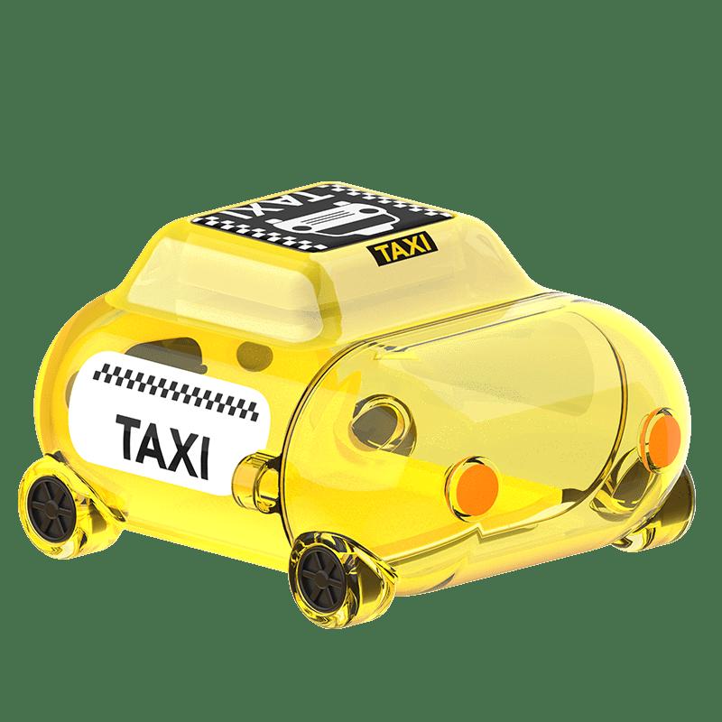 MoveBuddy AirPods 小汽車系列耳機套-透黃