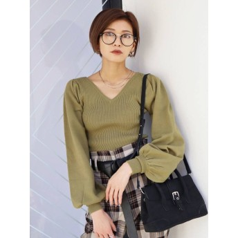 TUCK BULKY FIT KNIT