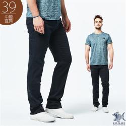 NST Jeans_藍黑色單寧 夏季純棉牛仔男褲(中腰) 390(5751)