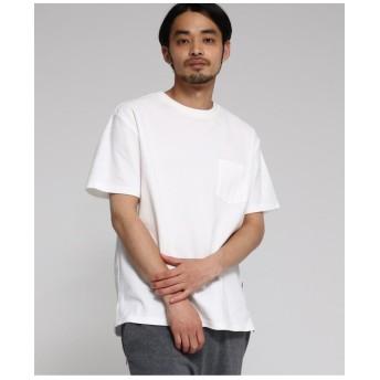 【WEB限定】  カノコ編立衿 BIG-Tシャツ