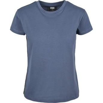 アーバン Classics レディース - ベーシック 用の箱 ティーシャツ vintage bleu