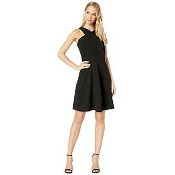 [Sam Edelman(サムエデルマン)] ドレス・ワンピース Crisscross Neck A-Line Dress Black 29cm [並行輸入品]
