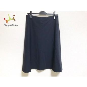 ジユウク 自由区/jiyuku スカート サイズ44 L レディース 美品 ダークネイビー 新着 20200128