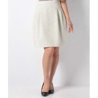 MISS J / ミス ジェイ ファンシーツィードスカート