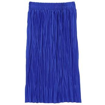 <ズッカ/ZUCCA> ワッシャープリーツスカート blue(12)【三越・伊勢丹/公式】