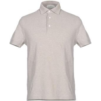 《セール開催中》DELLA CIANA メンズ ポロシャツ ドーブグレー 46 コットン 100%