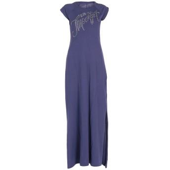 《セール開催中》!MERFECT レディース ロングワンピース&ドレス ダークパープル XS コットン 100%