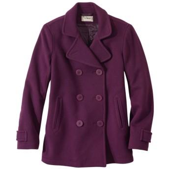 クラシック・ラムウール・コート、ピーコート/Classic Lambswool Coat, Peacoat