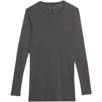 《セール開催中》MASNADA メンズ T シャツ スチールグレー 48 コットン 100%