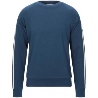 《セール開催中》SANDRO メンズ スウェットシャツ ブルー XS コットン 100% / ポリウレタン