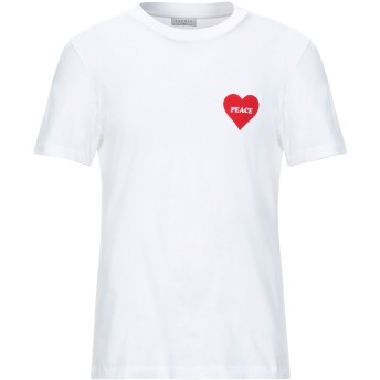 《セール開催中》SANDRO メンズ T シャツ ホワイト XL コットン 100%
