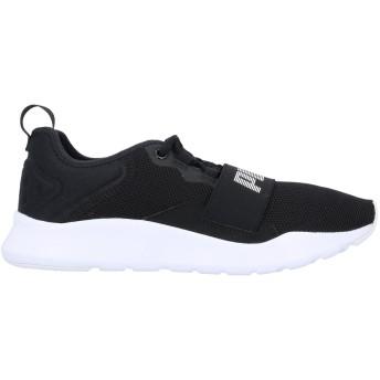 《セール開催中》PUMA メンズ スニーカー&テニスシューズ(ローカット) ブラック 6 紡績繊維