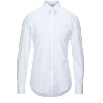 《セール開催中》DOLCE & GABBANA メンズ シャツ ホワイト 38 コットン 100%