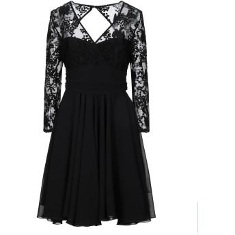 《セール開催中》HANITA レディース ミニワンピース&ドレス ブラック S ポリエステル 100%