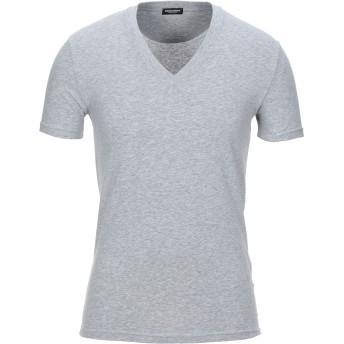 《セール開催中》DSQUARED2 メンズ アンダーTシャツ グレー XS コットン 95% / ポリウレタン 5%