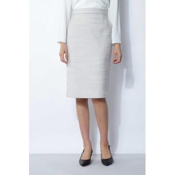 BOSCH ツィードセットアップスカート ひざ丈スカート,グレー1