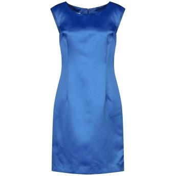 《セール開催中》ANUG レディース ミニワンピース&ドレス ブルー 44 ポリエステル 100%