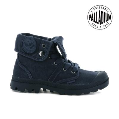PALLADIUM PALLABROUSE 反摺帆布靴 女 深藍 92478-427
