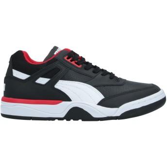 《セール開催中》PUMA メンズ スニーカー&テニスシューズ(ローカット) ブラック 6.5 革 / 紡績繊維