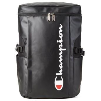 カバンのセレクション チャンピオン リュック 25L メンズ レディース スクエア ボックス型 防水 通学 champion 62486 ユニセックス ブラック フリー 【Bag & Luggage SELECTION】
