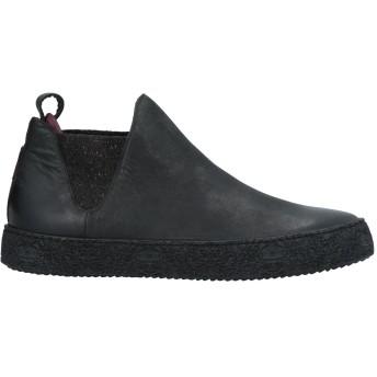 《セール開催中》LEVIUS メンズ スニーカー&テニスシューズ(ハイカット) ブラック 39 革 / 紡績繊維