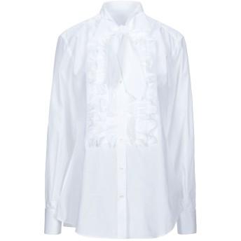 《セール開催中》DOLCE & GABBANA レディース シャツ ホワイト 38 コットン 100%