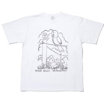 ボンジュールボンソワール/【bonjour bonsoir】ARTHUR T-Shirt 2/ホワイト/L