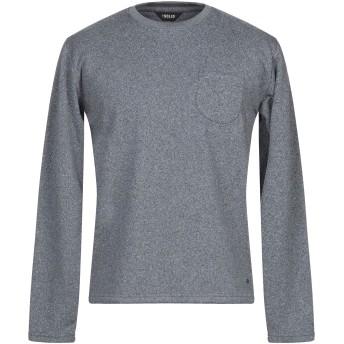 《セール開催中》!SOLID メンズ スウェットシャツ ブルーグレー XL コットン 60% / ポリエステル 40%