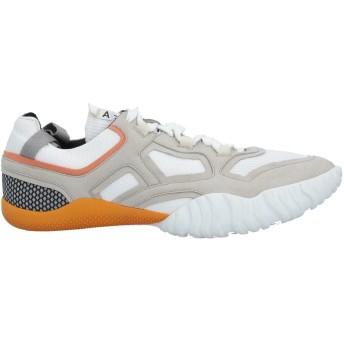 《セール開催中》ACNE STUDIOS レディース スニーカー&テニスシューズ(ローカット) ライトグレー 42 紡績繊維 / 革