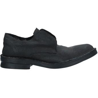 《セール開催中》MASNADA レディース モカシン ブラック 42 革 / 紡績繊維