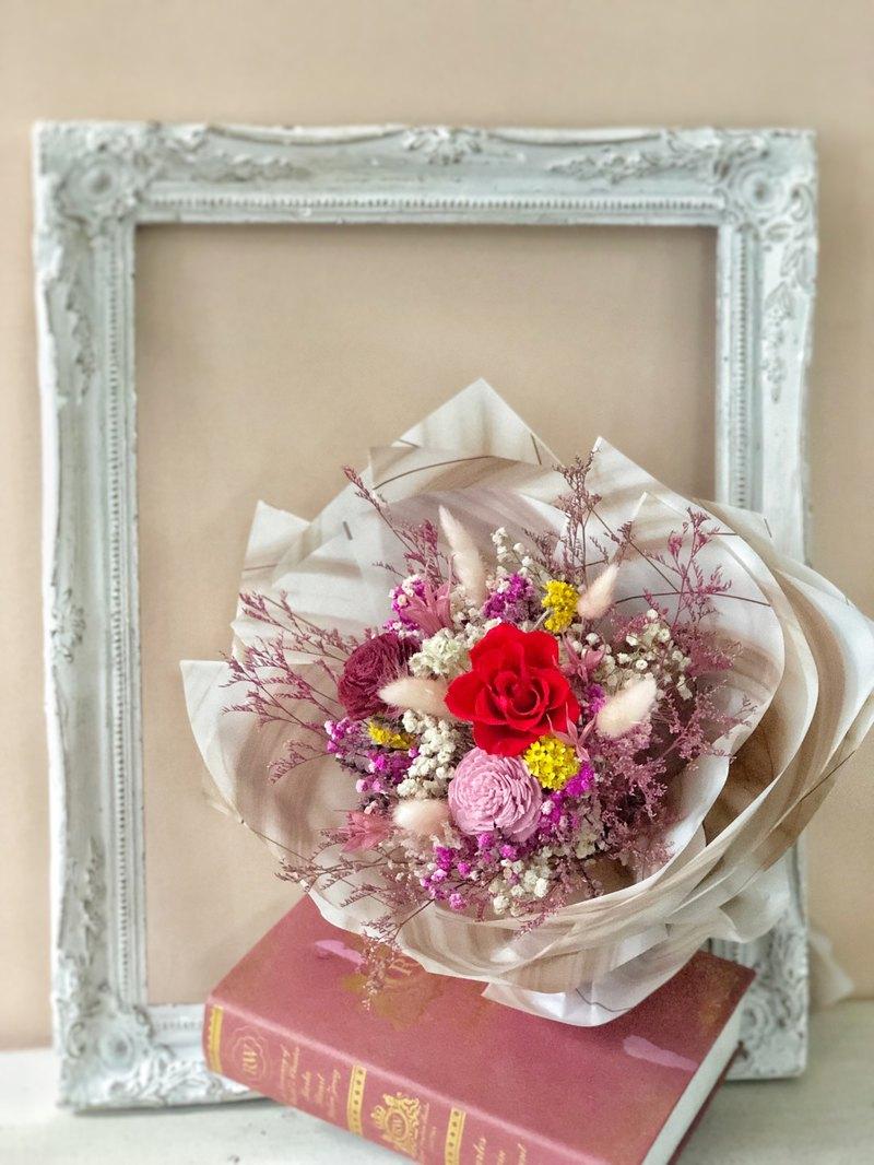 畢業禮物 畢業花束 感恩花束 謝師花束 熱情紅玫瑰花束