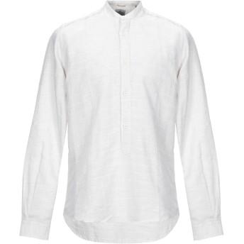 《セール開催中》PORTOFIORI メンズ シャツ ベージュ 40 麻 51% / コットン 48% / ポリエステル 1%