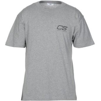 《セール開催中》CMMN SWDN メンズ T シャツ グレー S コットン 100%