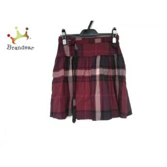 バーバリーブルーレーベル 巻きスカート サイズ36 S レディース 新品同様 チェック柄 新着 20200129