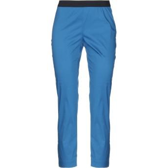 《セール開催中》LIVIANA CONTI レディース パンツ ブルー 38 コットン 68% / ナイロン 28% / ポリウレタン 4%