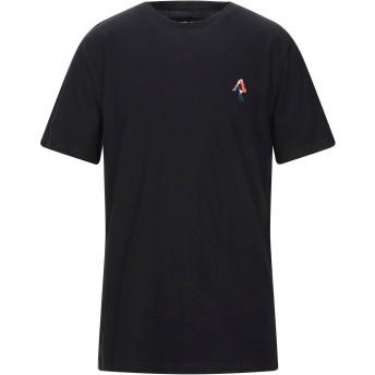 《セール開催中》DEDICATED. メンズ T シャツ ブラック S オーガニックコットン 100%