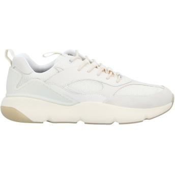 《セール開催中》COLE HAAN メンズ スニーカー&テニスシューズ(ローカット) アイボリー 7 革 / 紡績繊維 / プラスティック