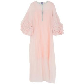 《セール開催中》THIERRY COLSON レディース ロングワンピース&ドレス ライトピンク XS コットン 65% / シルク 35%