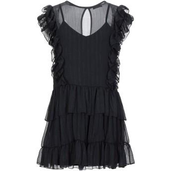 《セール開催中》SHIKI レディース ミニワンピース&ドレス ブラック S ポリエステル 100%