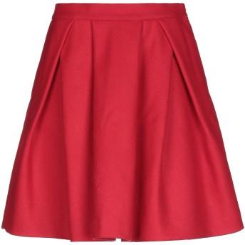 《セール開催中》GF FERRE' レディース ひざ丈スカート レッド 40 ウール 80% / ナイロン 20%